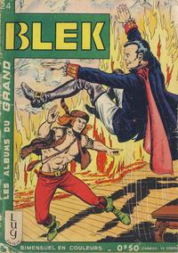 Cover Thumbnail for Blek (Editions Lug, 1963 series) #24