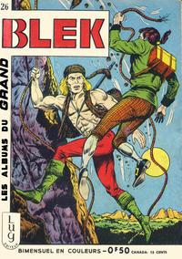 Cover Thumbnail for Blek (Editions Lug, 1963 series) #26