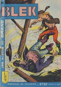 Cover Thumbnail for Blek (Editions Lug, 1963 series) #30