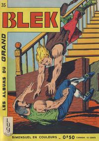 Cover Thumbnail for Blek (Editions Lug, 1963 series) #35