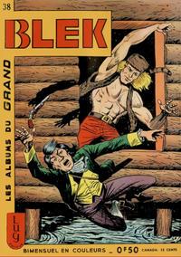Cover Thumbnail for Blek (Editions Lug, 1963 series) #38