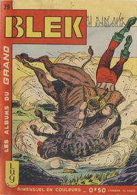 Cover Thumbnail for Blek (Editions Lug, 1963 series) #39
