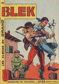 Cover Thumbnail for Blek (Editions Lug, 1963 series) #40