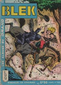 Cover Thumbnail for Blek (Editions Lug, 1963 series) #45