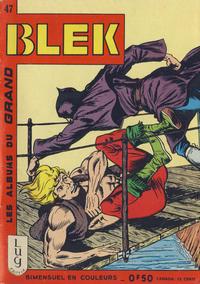 Cover Thumbnail for Blek (Editions Lug, 1963 series) #47