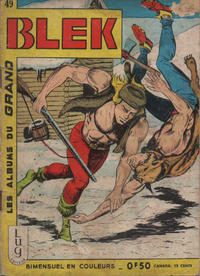 Cover Thumbnail for Blek (Editions Lug, 1963 series) #49