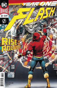 Cover Thumbnail for The Flash (DC, 2016 series) #72 [Howard Porter Cover]