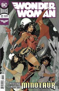 Cover Thumbnail for Wonder Woman (DC, 2016 series) #72 [Terry & Rachel Dodson Cover]