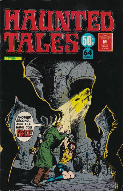 Cover for Haunted Tales (K. G. Murray, 1973 series) #28