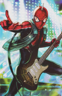 Cover Thumbnail for Amazing Spider-Man (Marvel, 2018 series) #22 (823) [Variant Edition - Marvel Battle Lines - Heejin Jeon Cover]