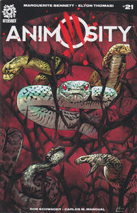 Cover Thumbnail for Animosity (AfterShock, 2016 series) #21