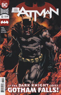 Cover Thumbnail for Batman (DC, 2016 series) #72