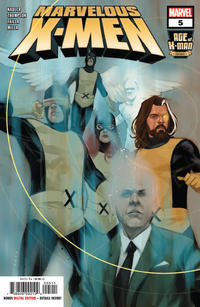 Cover Thumbnail for Age of X-Man: The Marvelous X-Men (Marvel, 2019 series) #5