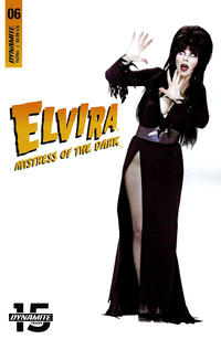 Cover Thumbnail for Elvira: Mistress of the Dark (Dynamite Entertainment, 2018 series) #6 [Cover D Photo]