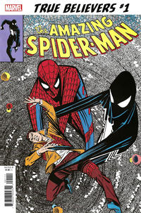 Cover Thumbnail for True Believers: The Sinister Secret of Spider-Man's New Costume! (Marvel, 2019 series) #1