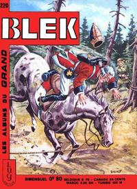 Cover Thumbnail for Blek (Editions Lug, 1963 series) #220