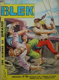 Cover Thumbnail for Blek (Editions Lug, 1963 series) #221
