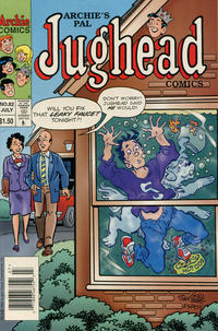 Cover Thumbnail for Archie's Pal Jughead Comics (Archie, 1993 series) #82 [Newsstand]
