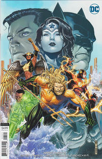 Cover Thumbnail for Justice League (DC, 2018 series) #25 [Jim Cheung Variant Cover]
