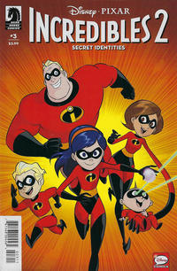 Cover for Incredibles 2: Secret Identities (Dark Horse, 2019 series) #3