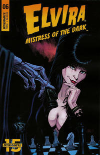 Cover Thumbnail for Elvira: Mistress of the Dark (Dynamite Entertainment, 2018 series) #6 [Cover B Craig Cermak]