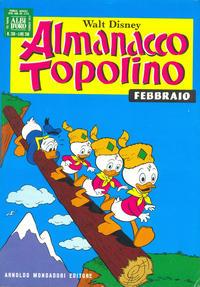 Cover Thumbnail for Almanacco Topolino (Arnoldo Mondadori Editore, 1957 series) #206
