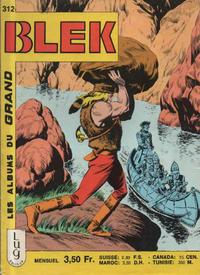 Cover Thumbnail for Blek (Editions Lug, 1963 series) #312