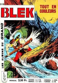 Cover Thumbnail for Blek (Editions Lug, 1963 series) #318