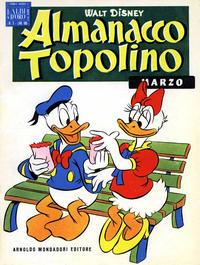 Cover Thumbnail for Almanacco Topolino (Arnoldo Mondadori Editore, 1957 series) #3