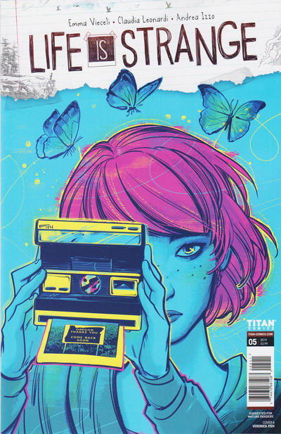 Cover for Life Is Strange (Titan, 2018 series) #5 [Cover A - Veronica Fish]