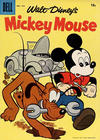 Cover for Mickey Mouse (Dell, 1952 series) #57 [15¢]