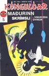 Cover for Kóngulóarmaðurinn (Semic International, 1985 series) #5/1989