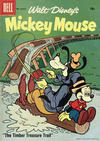 Cover for Mickey Mouse (Dell, 1952 series) #58 [15¢]