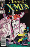 Cover for Classic X-Men (Marvel, 1986 series) #16 [Newsstand]
