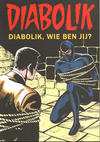 Cover for Diabolik (Windmill Comics, 2019 series) #1 - Diabolik, wie ben jij?