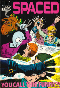 Cover Thumbnail for Spaced (Anthony Smith [independent], 1982 series) #9