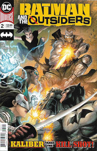 Cover Thumbnail for Batman and the Outsiders (DC, 2019 series) #2
