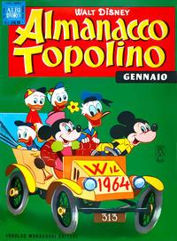 Cover Thumbnail for Almanacco Topolino (Arnoldo Mondadori Editore, 1957 series) #85