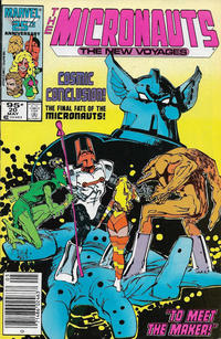 Cover Thumbnail for Micronauts (Marvel, 1984 series) #20 [Canadian]
