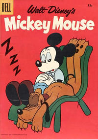 Cover Thumbnail for Mickey Mouse (Dell, 1952 series) #60 [15¢]