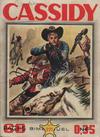Cover for Cassidy (Impéria, 1957 series) #221