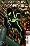Cover for Captain Marvel (Marvel, 2019 series) #7 (141) [Mike McKone 'Spider-Man Suit']
