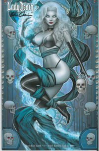 Cover Thumbnail for Lady Death: Scorched Earth (Coffin Comics, 2019 series) #1 [Jeweled Edition]