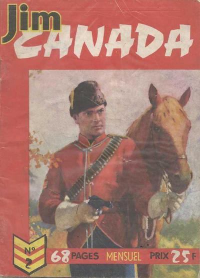Cover for Jim Canada (Impéria, 1958 series) #2