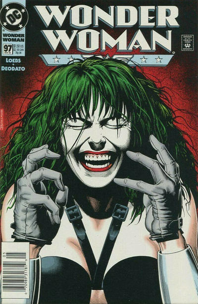 Cover for Wonder Woman (DC, 1987 series) #97 [Newsstand]