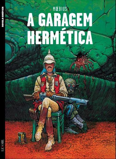Cover for Novela Gráfica (Levoir, 2016 series) #6 - A Garagem Hermética