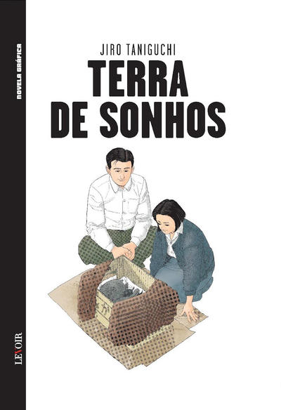 Cover for Novela Gráfica (Levoir, 2016 series) #2 - Terra de Sonhos