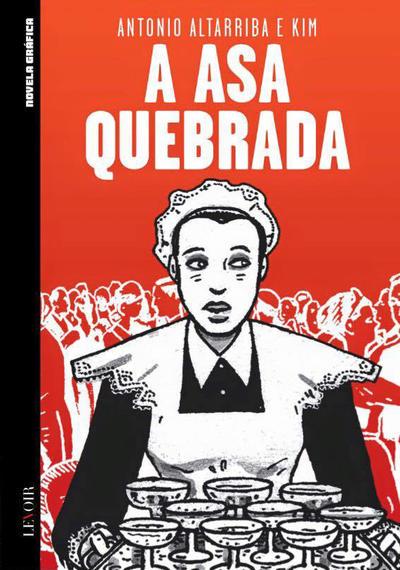 Cover for Novela Gráfica (Levoir, 2016 series) #14 - A Asa Quebrada