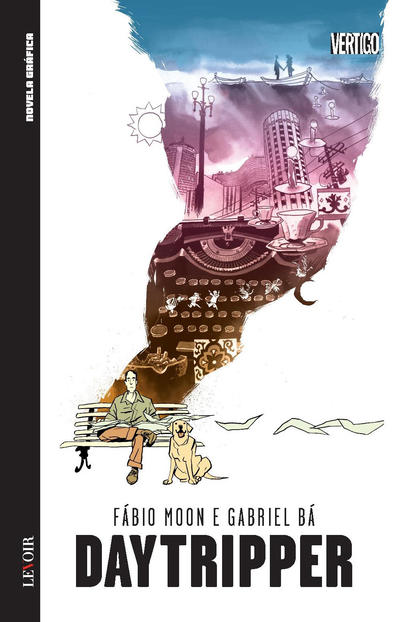 Cover for Novela Gráfica (Levoir, 2016 series) #10 - Daytripper