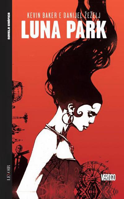 Cover for Novela Gráfica (Levoir, 2016 series) #11 - Luna Park